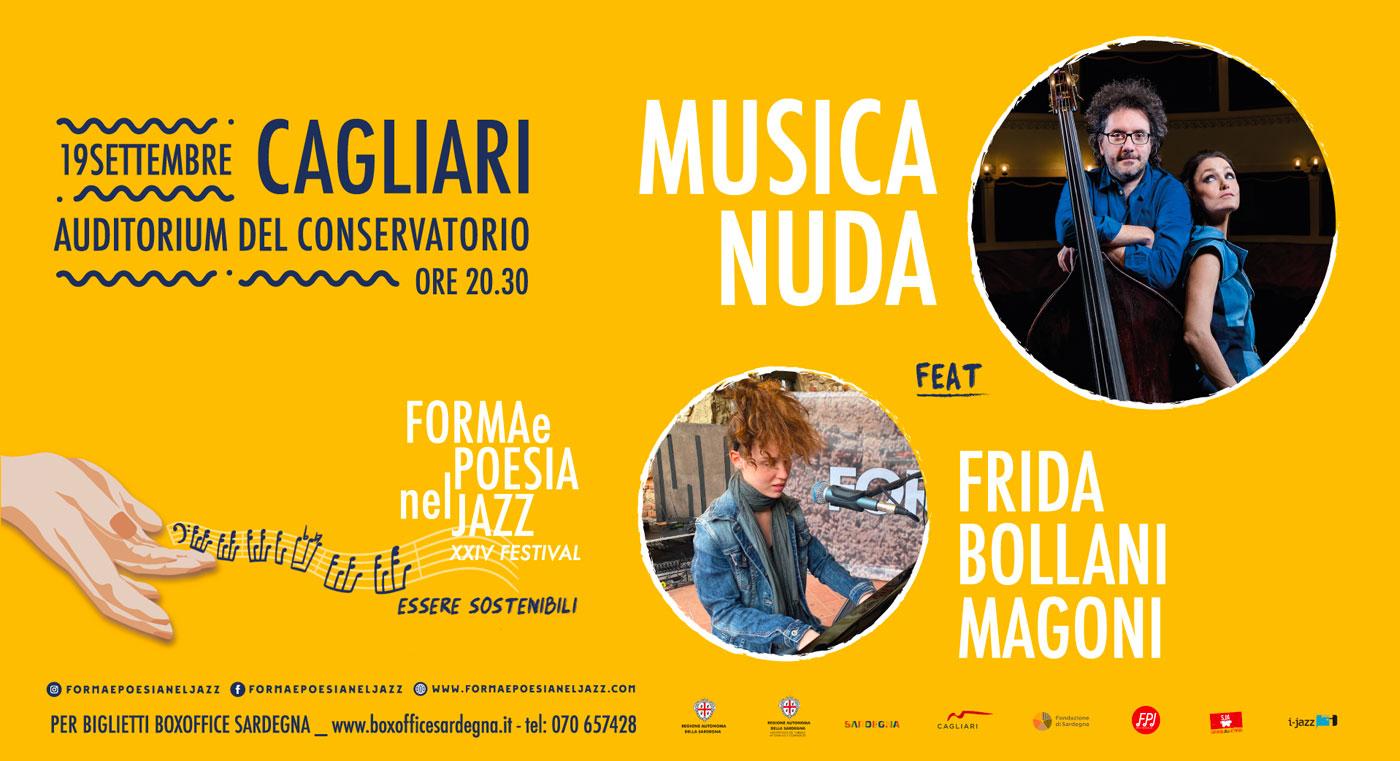 Musica Nuda feat. Frida Bollani Magoni | 19 settembre | Auditorium del Conservatorio - Cagliari