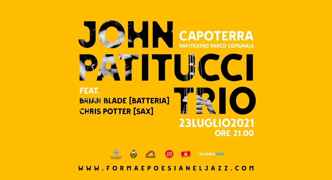 John Patitucci trio a Forma e poesia nel jazz 2021